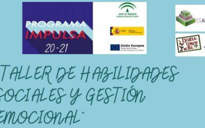 TALLER DE HABILIDADES SOCIALES Y GESTIÓN EMOCIONAL