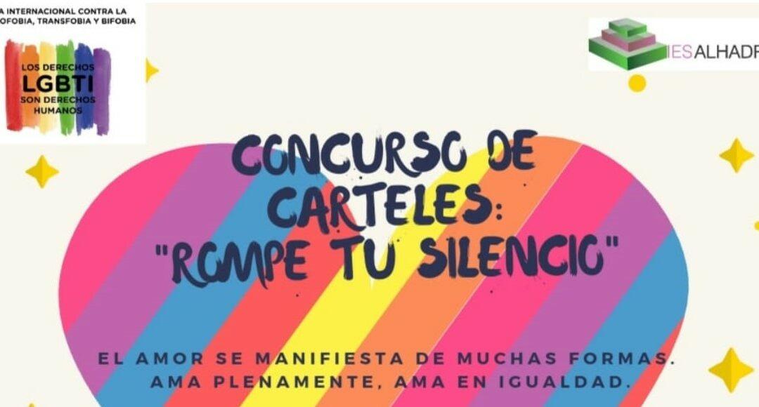 """Concurso de carteles: """"ROMPE TU SILENCIO"""""""