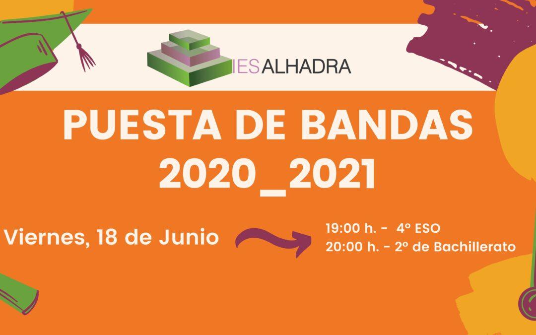 Puesta de bandas 2020_2021