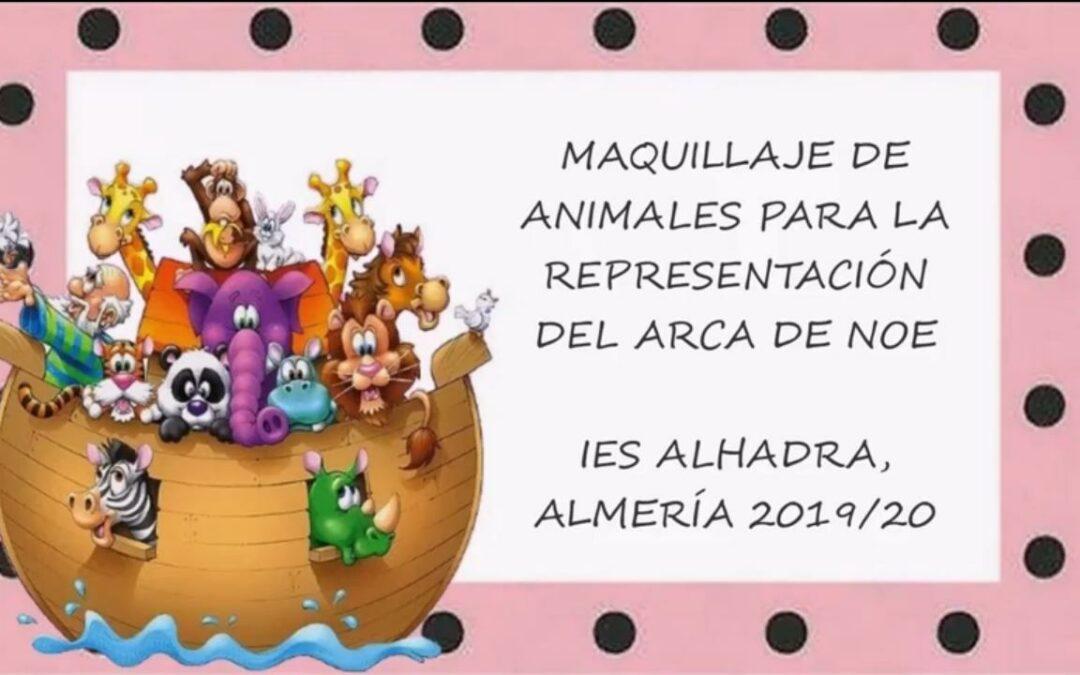 """Maquillaje """"El Arca de Noé"""""""