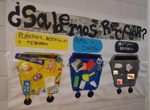foto mural reciclaje