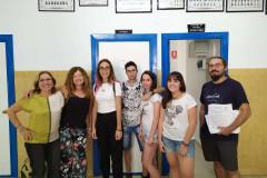 Paula-Cristobal-Andrea-y-Nuria-con-Charo-Paqui-y-Mato