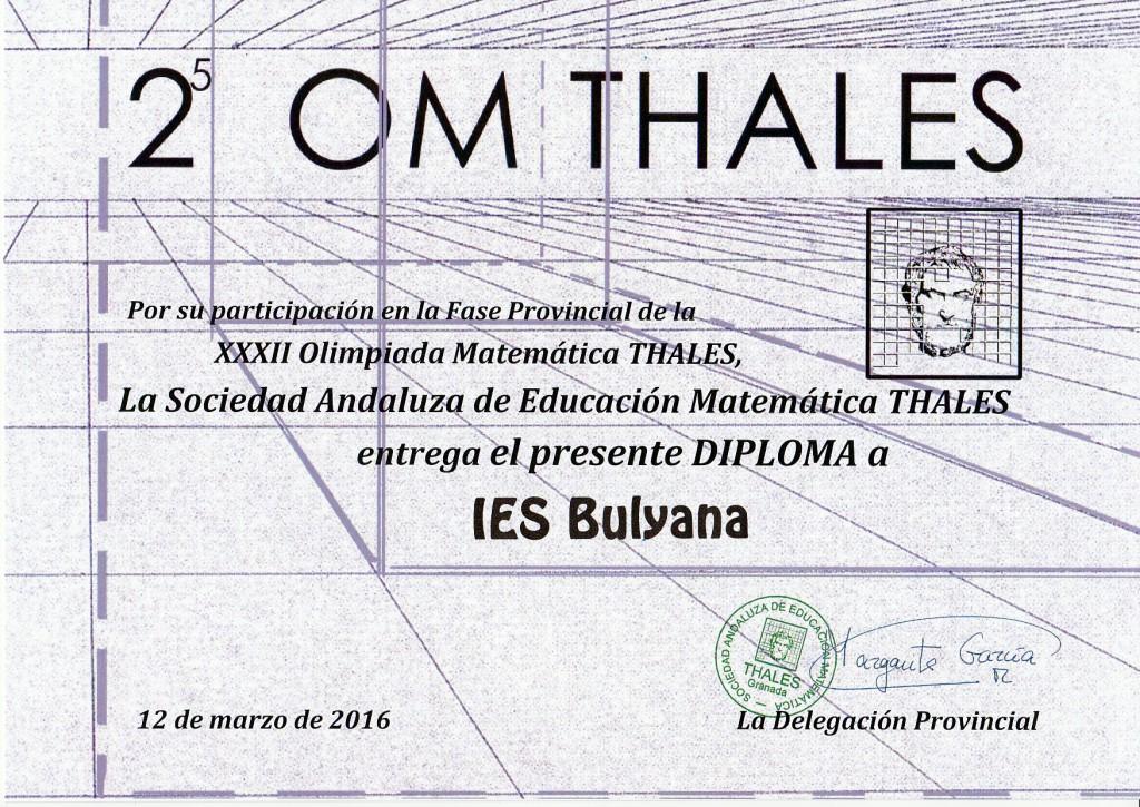 Thales2016