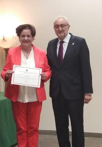Acto de reconocimiento al IES Christine Picasso por la colaboración en el Plan Director.