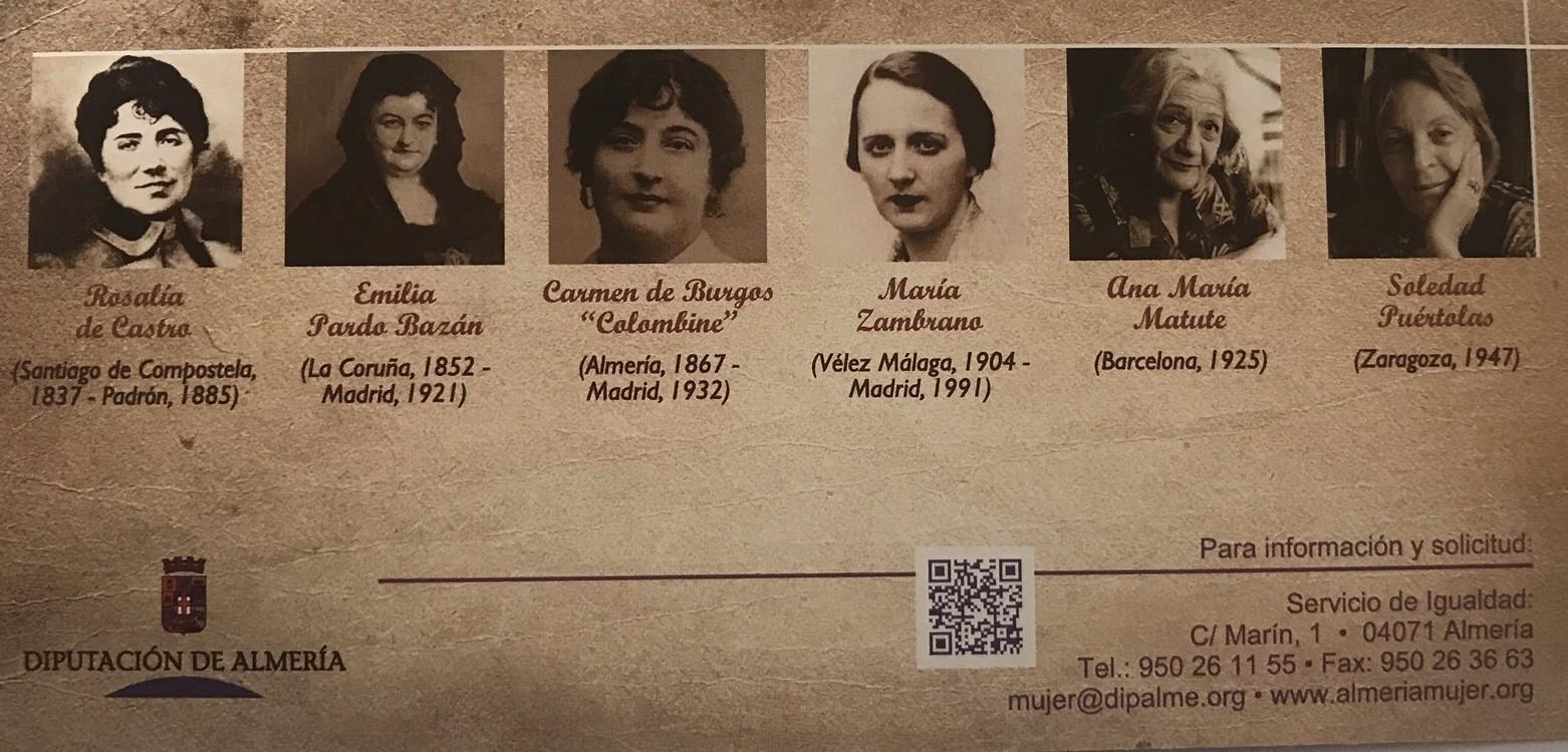 1. Carmen de Burgos y Seguí, conocida como «Colombine» (Níjar, Almería 1867 – Madrid 1932)