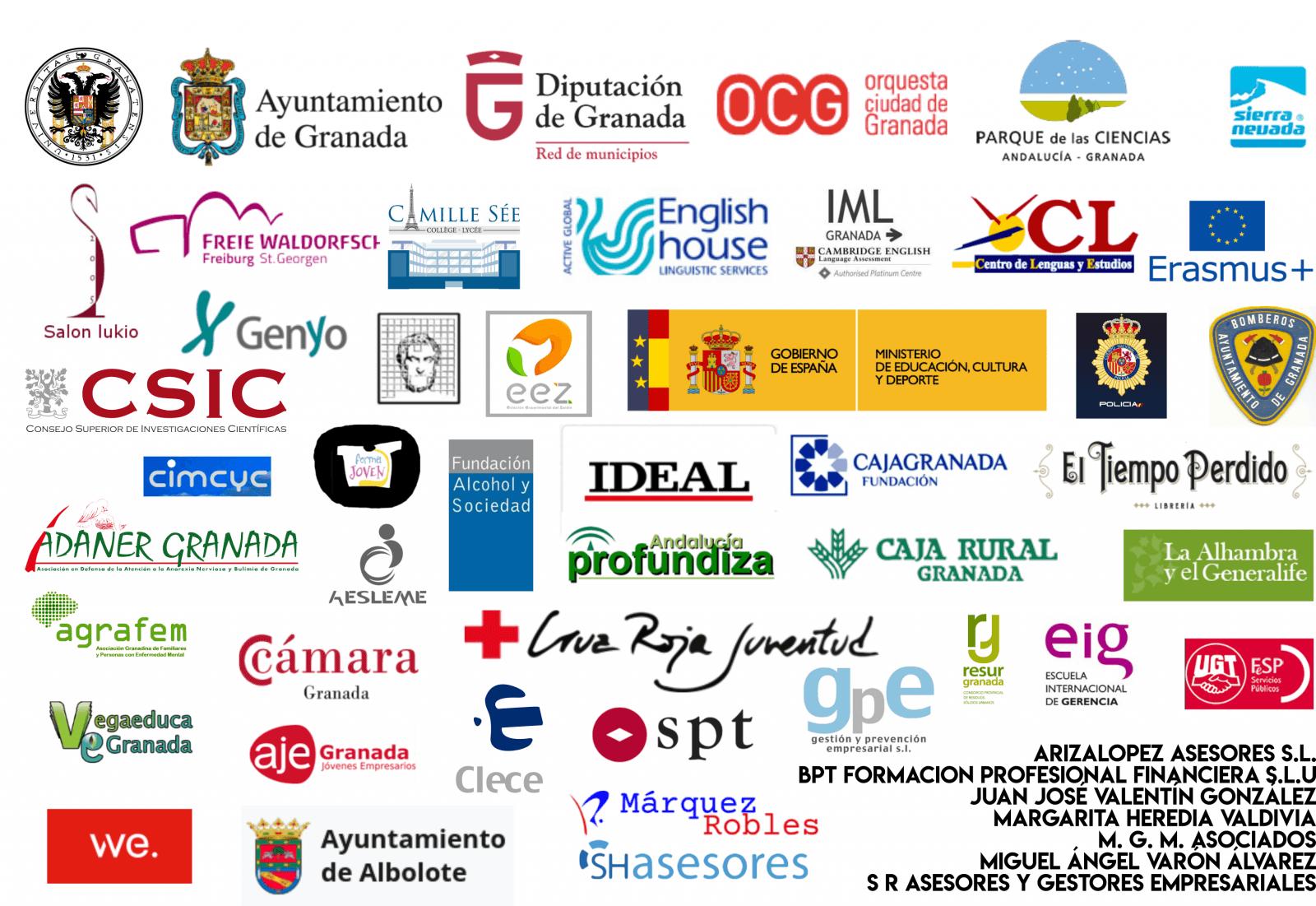 Empresas e instituciones colaboradoras