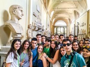 Galería de las estatuas, en los Museos Vaticanos