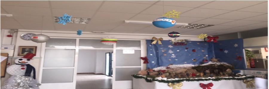 Preparando la Navidad en el IES José Marín