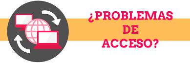 problemas de acceso