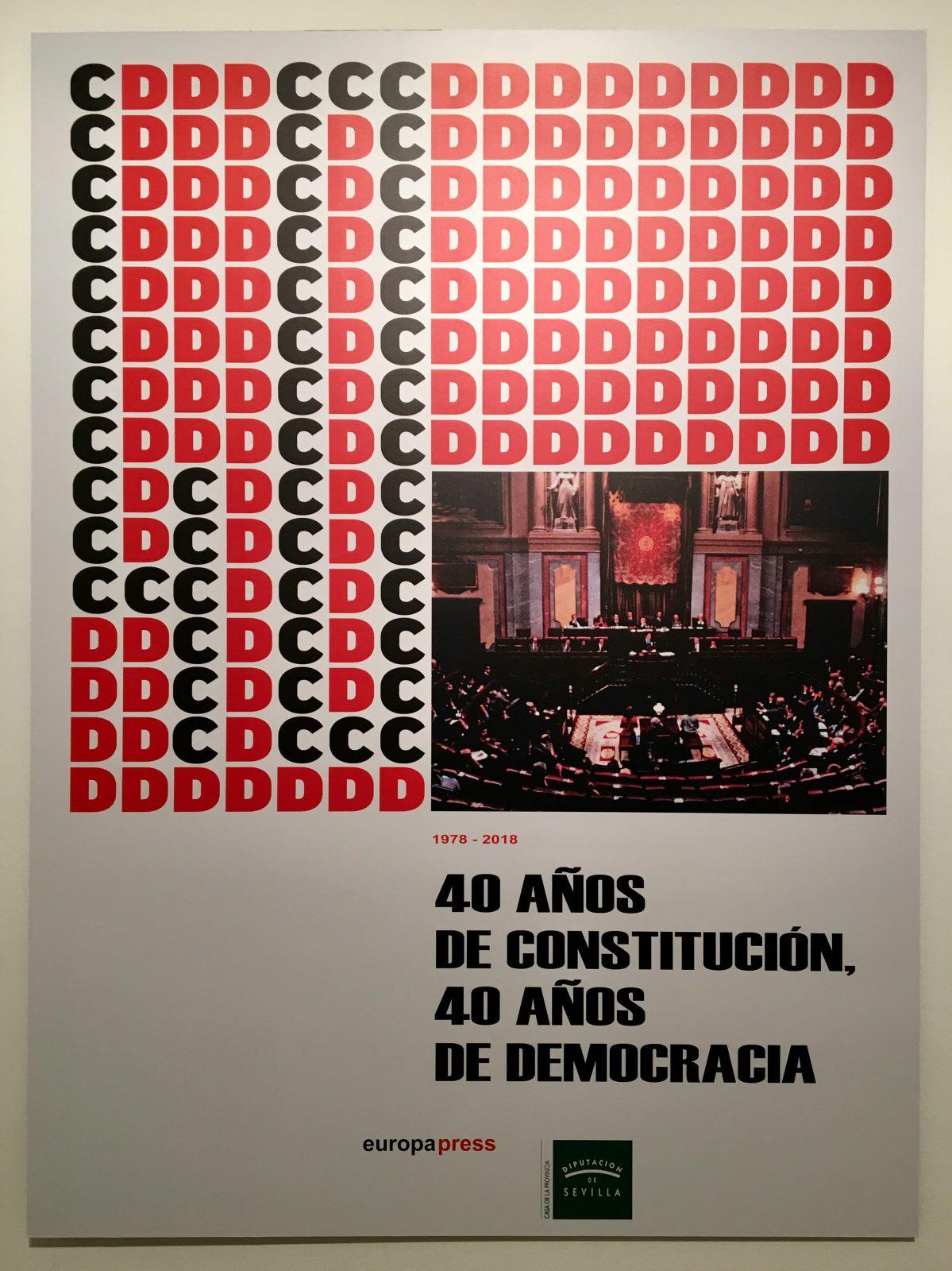 Visita EXPOSICIÓN 40 Aniversario de la Constitución Española
