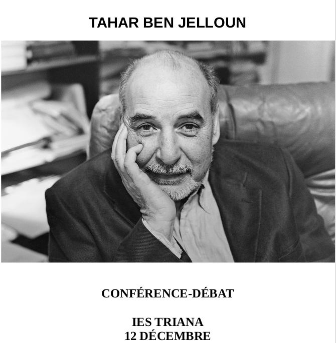 CONFERENCIA DE TAHAR BEN JELOUN. «L'enfant de sable»
