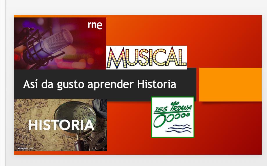 Musical: aprender Historia