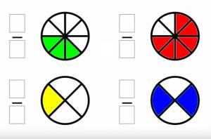 Ejercicios Interactivos De Fracciones Matemáticas En Un Clic