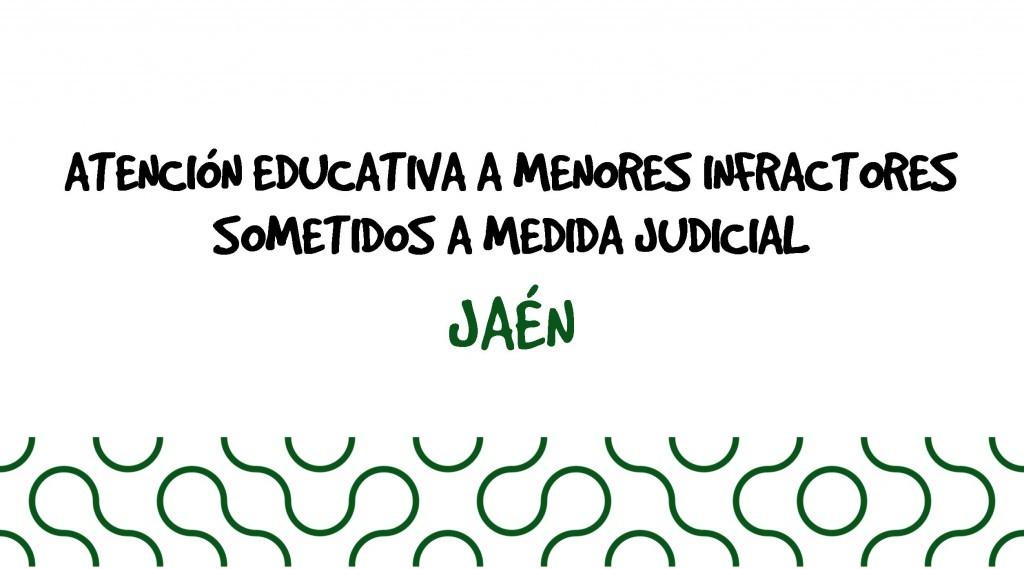 Atención Educativa a Menores con Medidas Judiciales