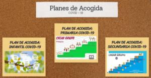 Planes acogida: Covid-19