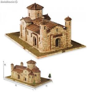 Maqueta de la iglesia de San Martín de Frómista