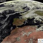 España imagen satelital AEMET