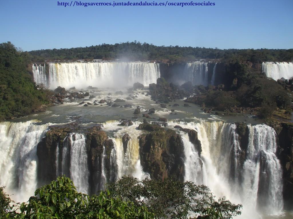 Cataratas del Iguazú (frontera Argentina-Brasil)