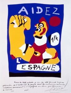 Cartel de Joan Miró. Colección Museo Reina Sofía. http://www.museoreinasofia.es/coleccion/obra/aidez-lespagne-ayudad-espana