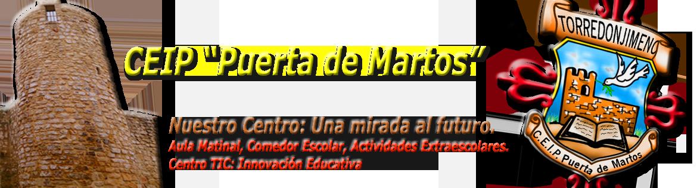 """CEIP """"Puerta de Martos"""""""