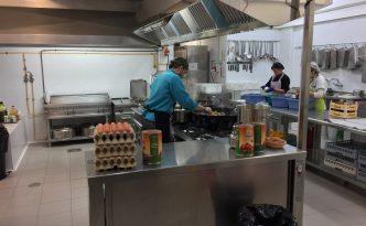 cocina gestión propia