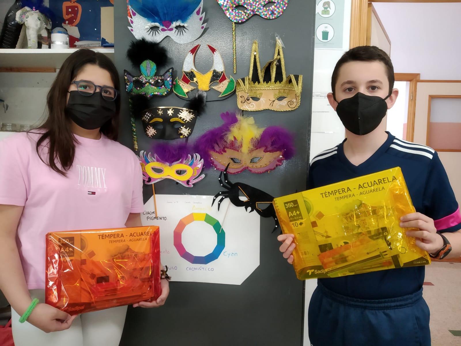 Ganadores del Concurso de Antifaz de Carnaval