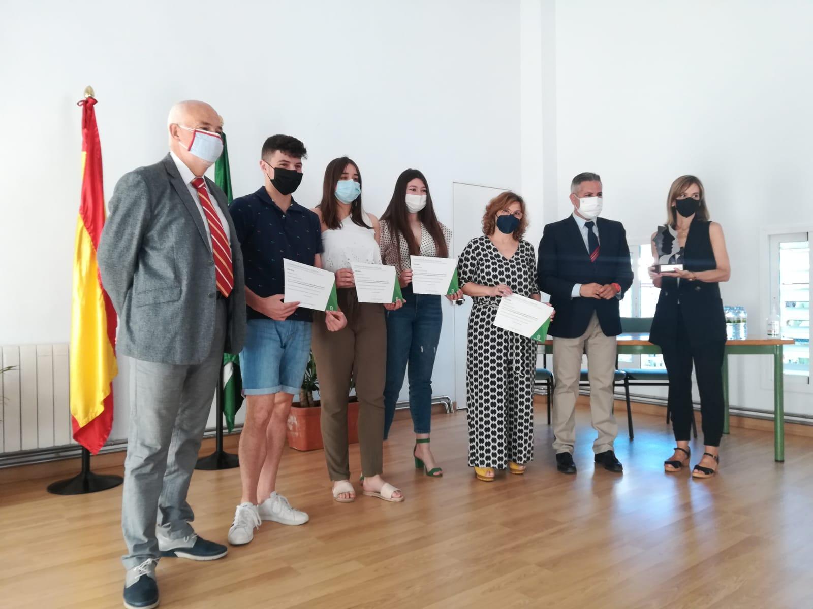 Entrega de premios a los ganadores provinciales del Torneo de Debate Educativo de Andalucía 2020