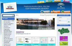 Web CEIP Raimundo Rivero