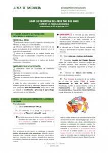 Hoja Informativa Padres Informe