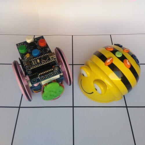 Introducir la robótica educativa con robots de suelo