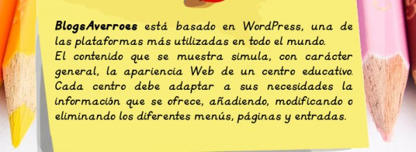 BlogsAverroes y WordPress